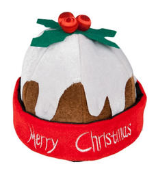 Christmas Pudding Adults Hat