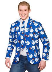 Fun Snowman Christmas Jacket & Tie