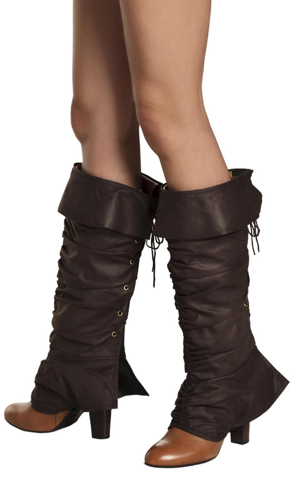 Huntress Boot Top Ladies Costume Accessory