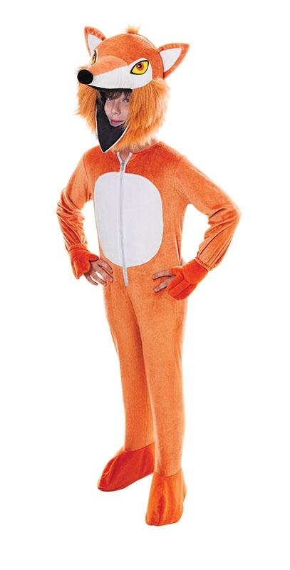 Big Head Fox Kids L 10 11 12 13 Book Week Animal Fancy Dress Boys Girls Costume