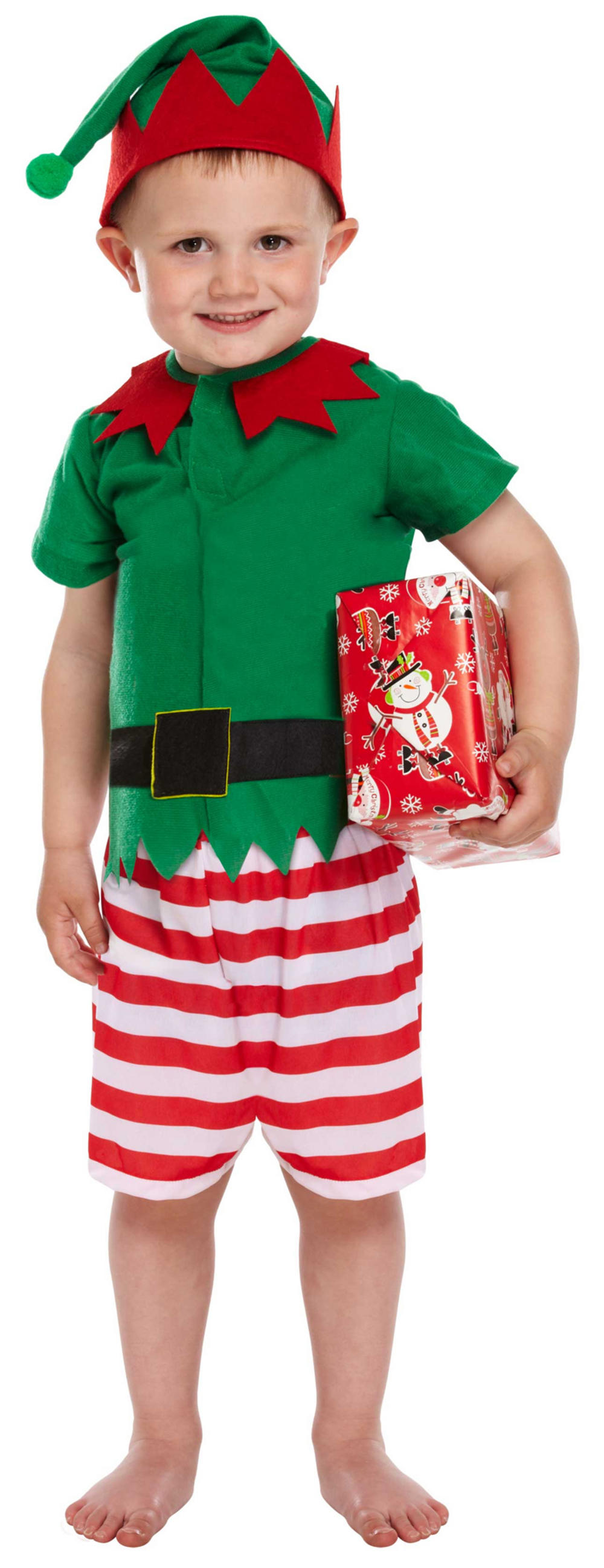 Toddler Santas Little Helper Boy Costume Kids Christmas