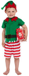 Toddler Santas Little Helper Boy Costume