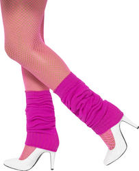 Hot Pink Legwarmers Costume Accessory