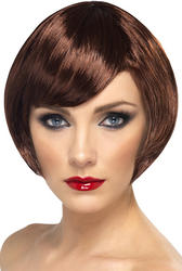 Brown Babe Bob Wig
