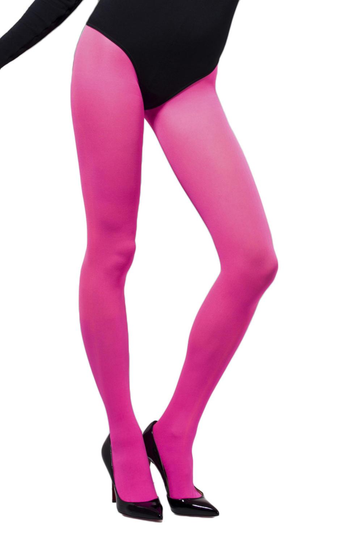 Pink Opaque Ladies Tights