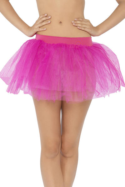 Fuchsia Tutu Underskirt Costume Accessory