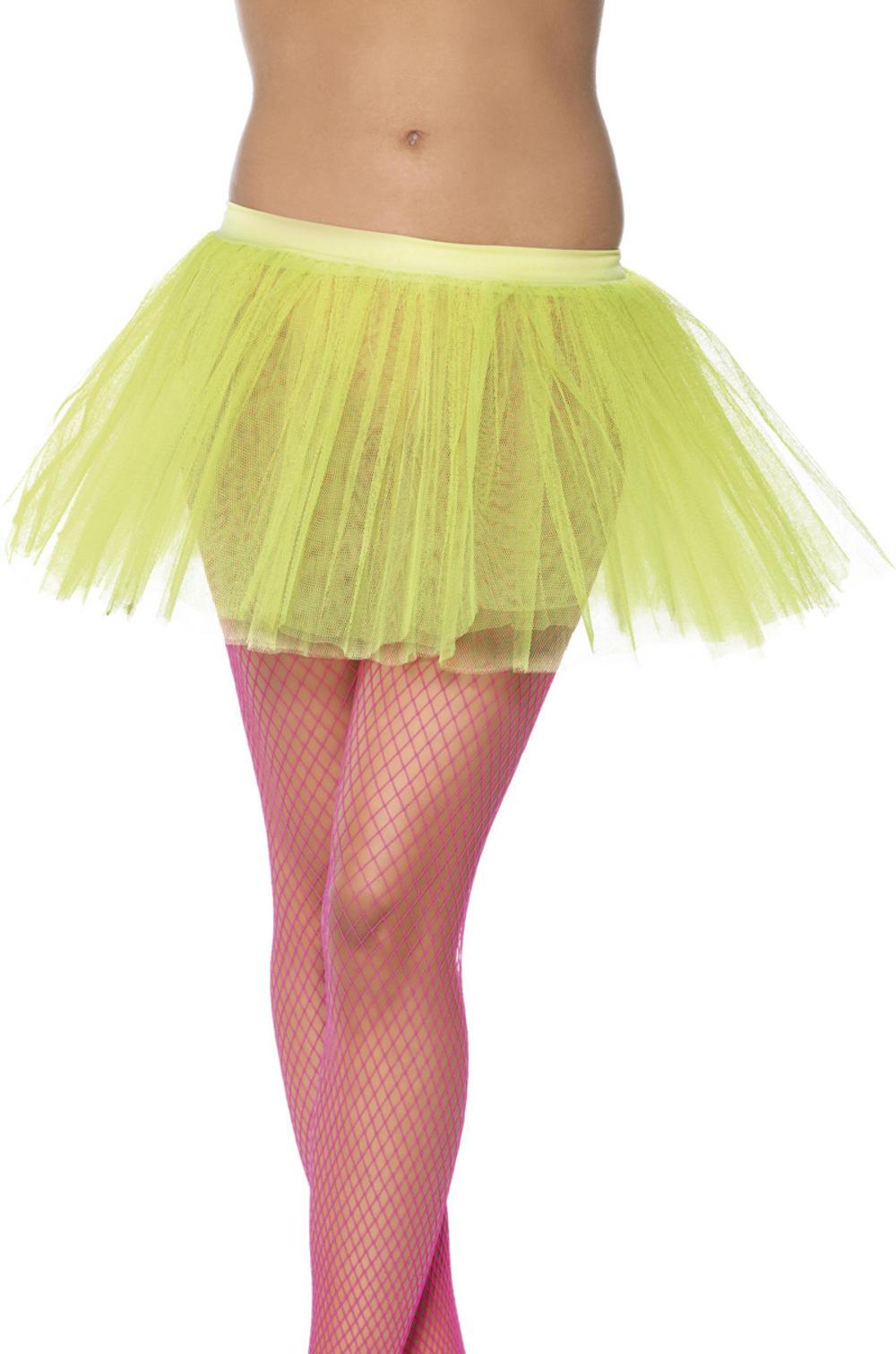 Neon Yellow Tutu Underskirt Costume Accessory