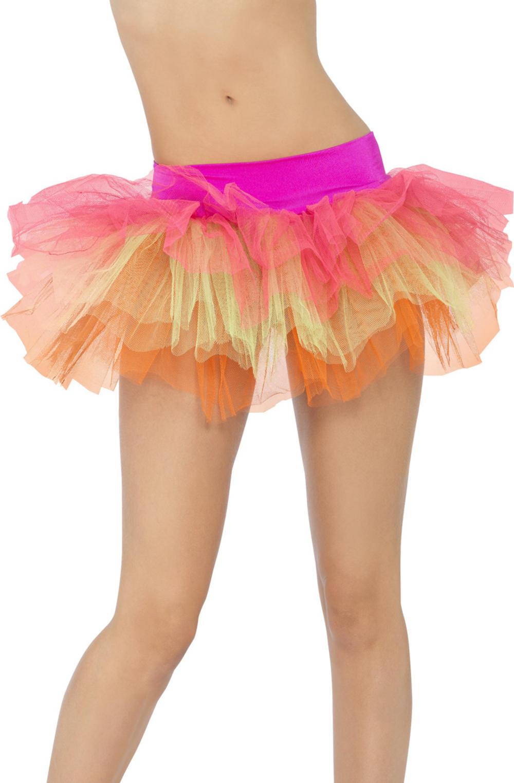 Multi-Coloured Tutu Underskirt Costume Accessory