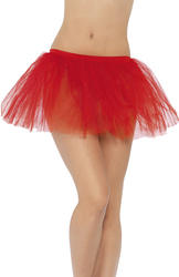 Red Tutu Underskirt Costume Accessory