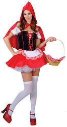 Red Hot Riding Hood Costume