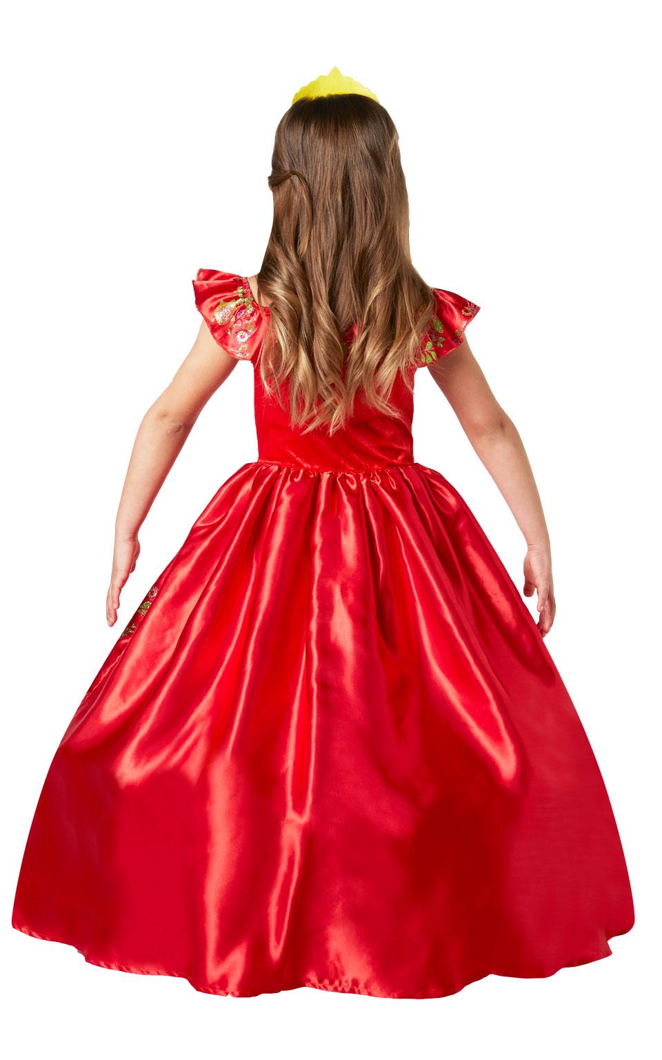 Disney Princess Elena of Avalor Girls Fancy Dress Fairy Tale Kids Childs Costume