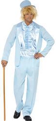 Blue 90s Stupid Tuxedo Mens Costume