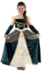 Royal Ball Gown Alexandra Girls Costume