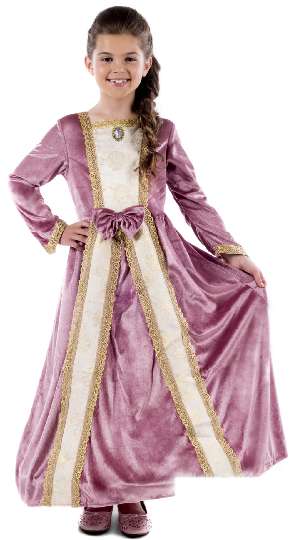 Royal Ball Gown Elizabeth Girls Costume
