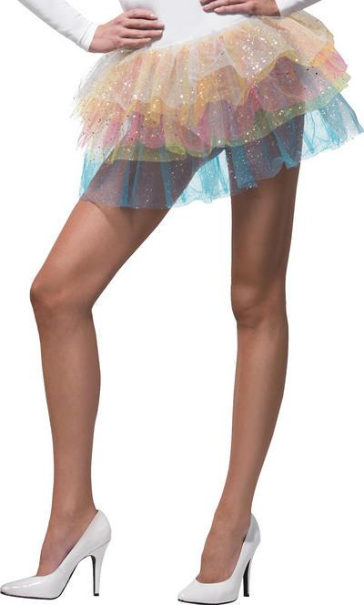 Sparkle Rainbow Tutu Costume Accessory