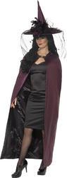 Purple & Black Reversible Adults Cape