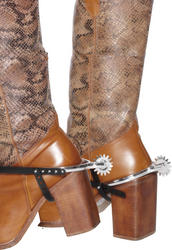 Silver Spurs Adults Costume Accessory