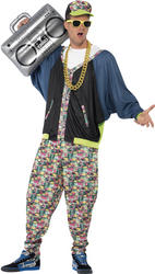 80s Hip Hop Mens Costume