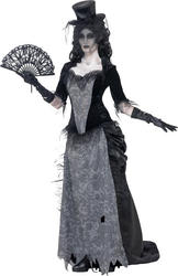 Ghost Town Black Widow Ladies Costume