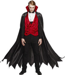 Mens Vampire Fancy Dress Costume