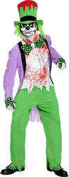 Bad Hatter Mens Costume