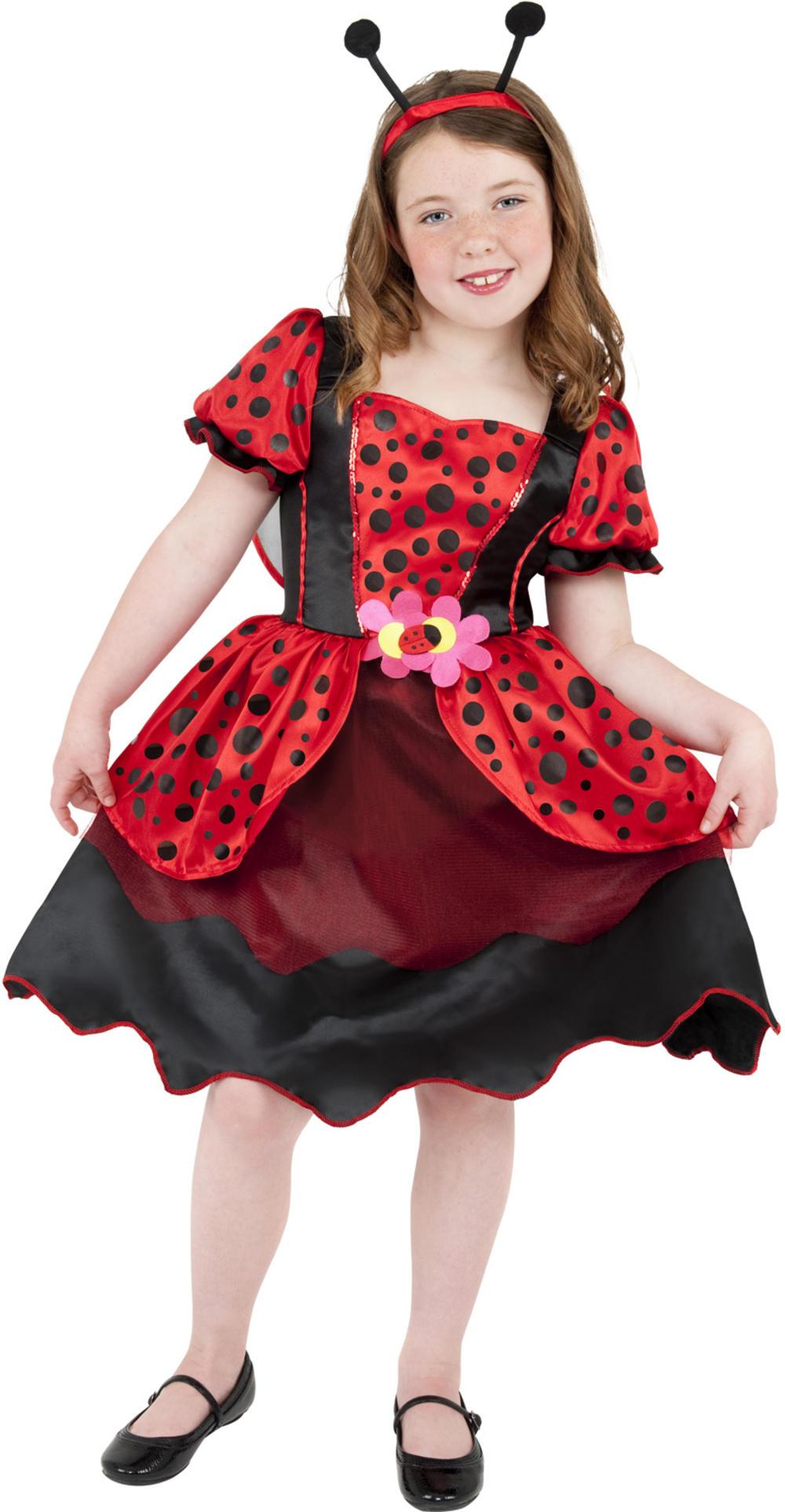 Little Lady Bug Girls Costume