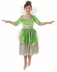 Green Pixie Fairy Girls Costume with Sound