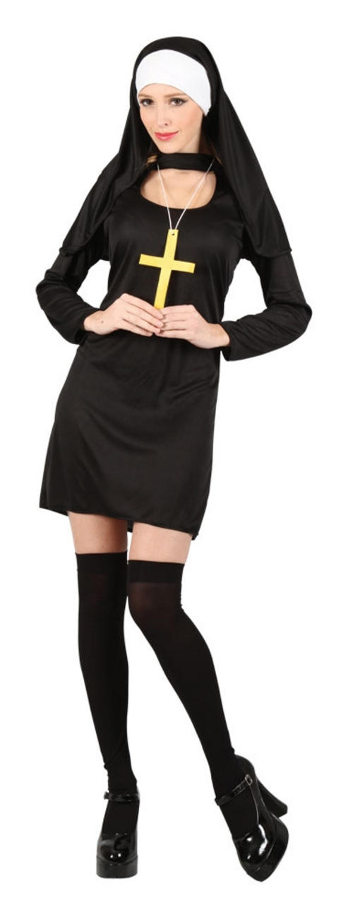 Directly. remarkable, naughty nun costume for the
