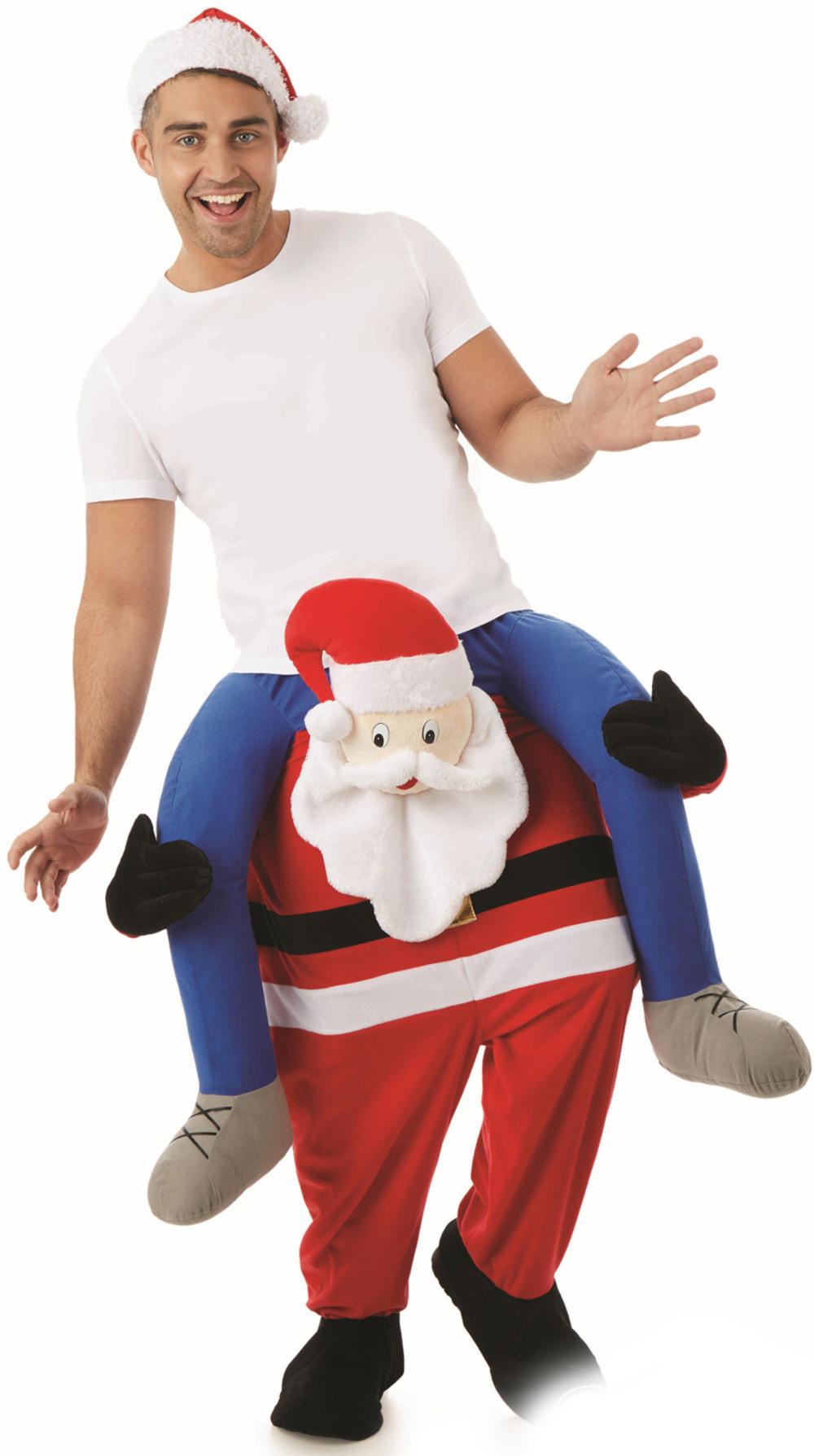 Ride On Santa Costume