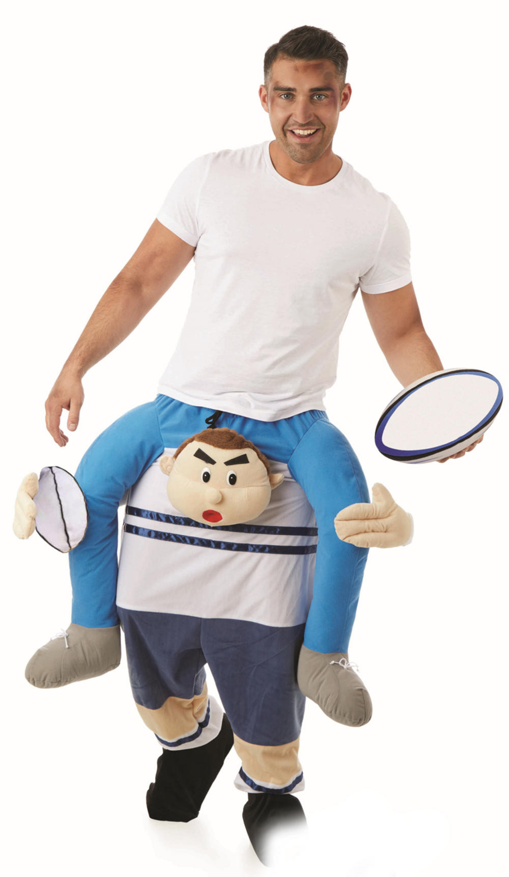 Lift Me Up Rubgy Player Costume