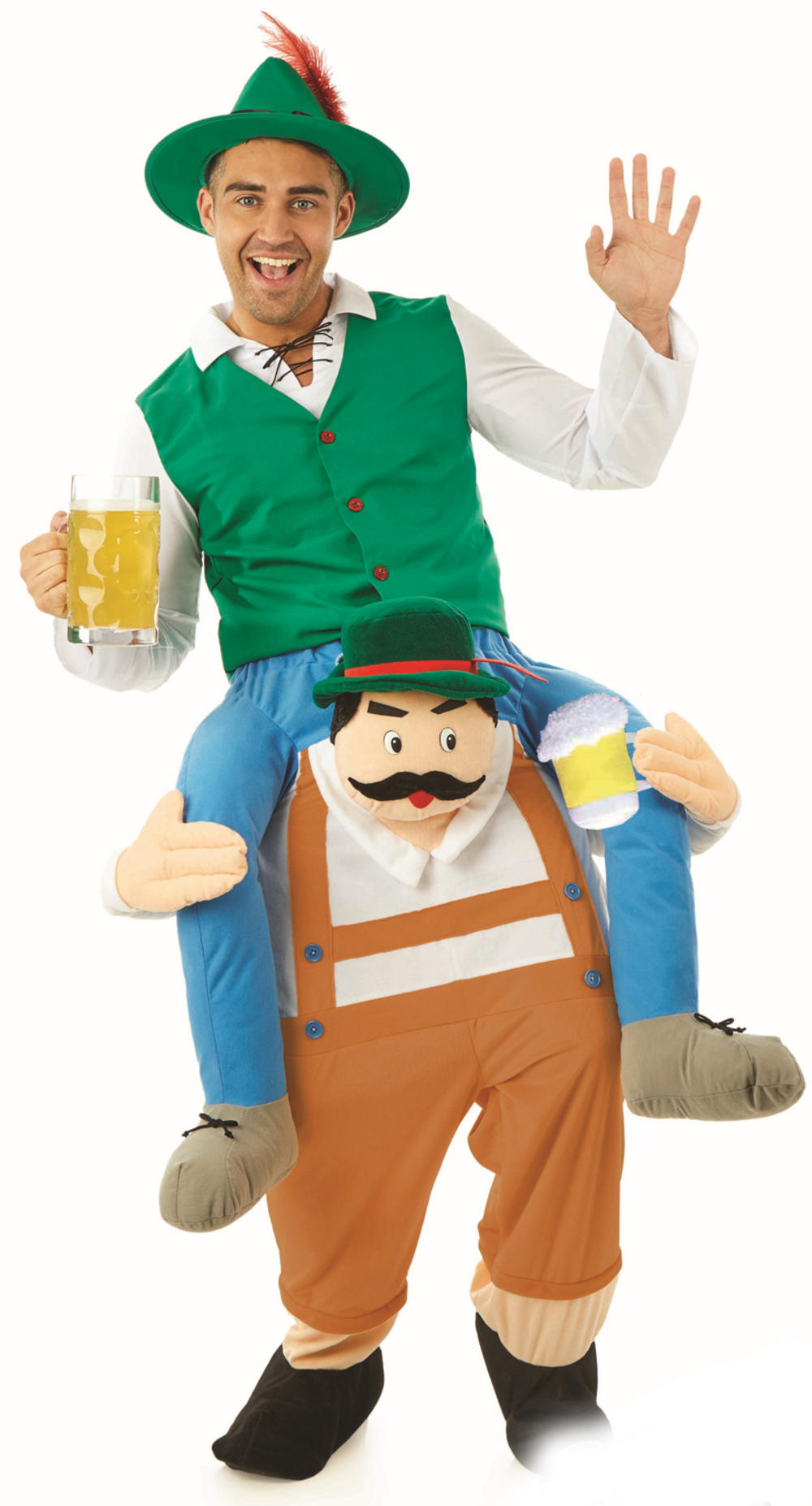 Lift Me Up German Beer Man Costume