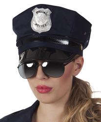 Party glasses Police