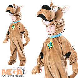 Kids' Deluxe Scooby Doo Costume