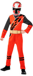 Red Ninja Steel Power Ranger Boys Costume