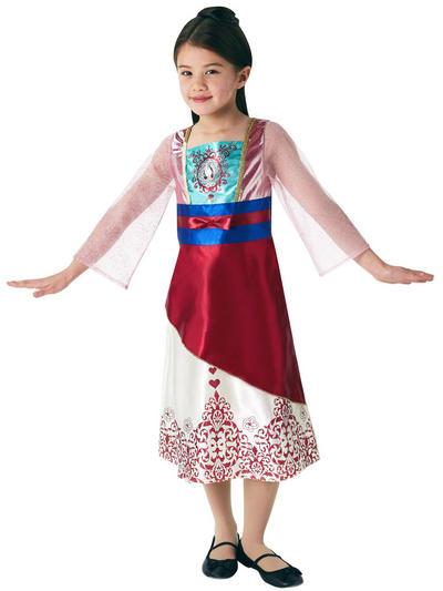 Gem Princess Mulan Girls Costume