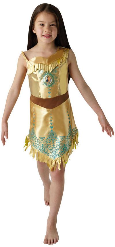 Gem Princess Pocahontas Girls Costume