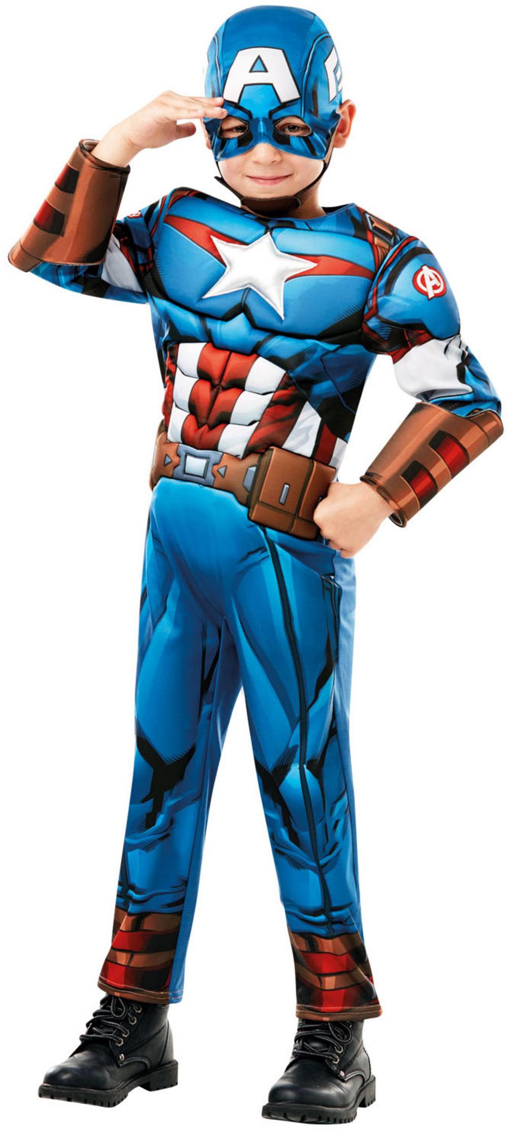 Deluxe Captain America Infinity War Boys Costume