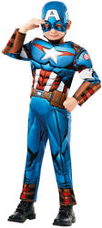 Deluxe Captain America Infinity War Boys Costume