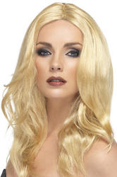 Blonde Superstar Wig Costume Accessory