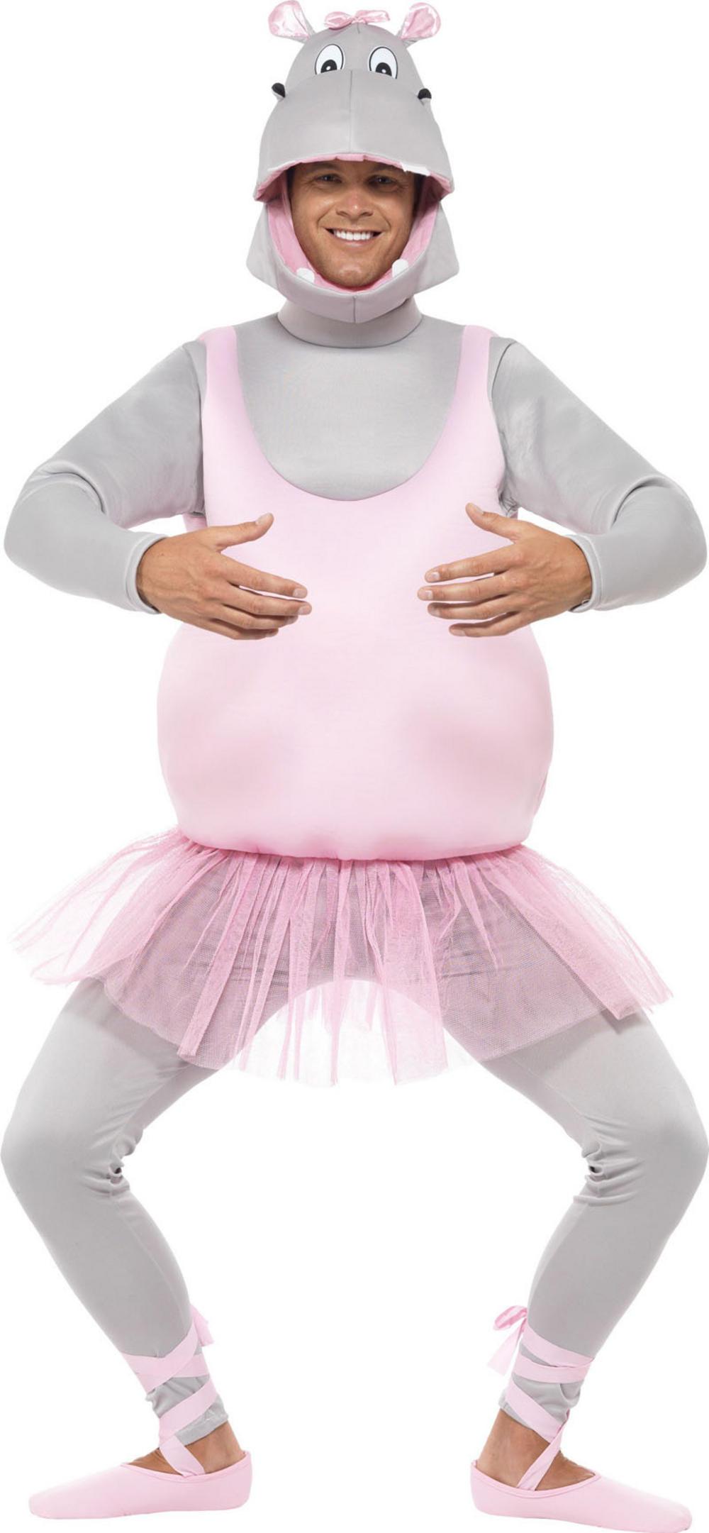 Ballerina Hippo Adults Costume