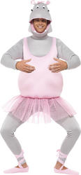 Ballerina Hippo Adults Costume