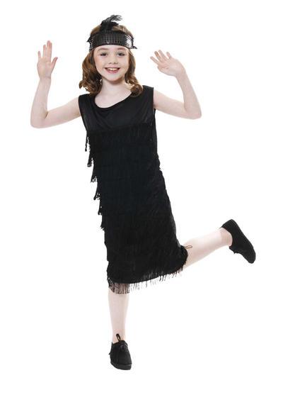 Girls Flapper Costume