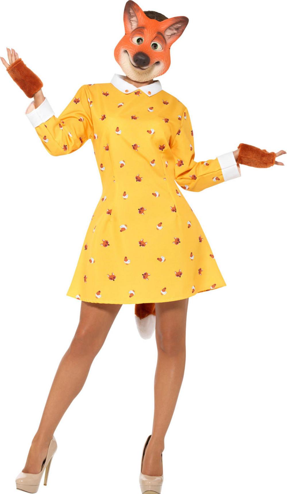 Lady Fox Ladies Costume