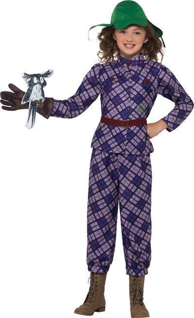 David Walliams Deluxe Awful Auntie Girls Costume