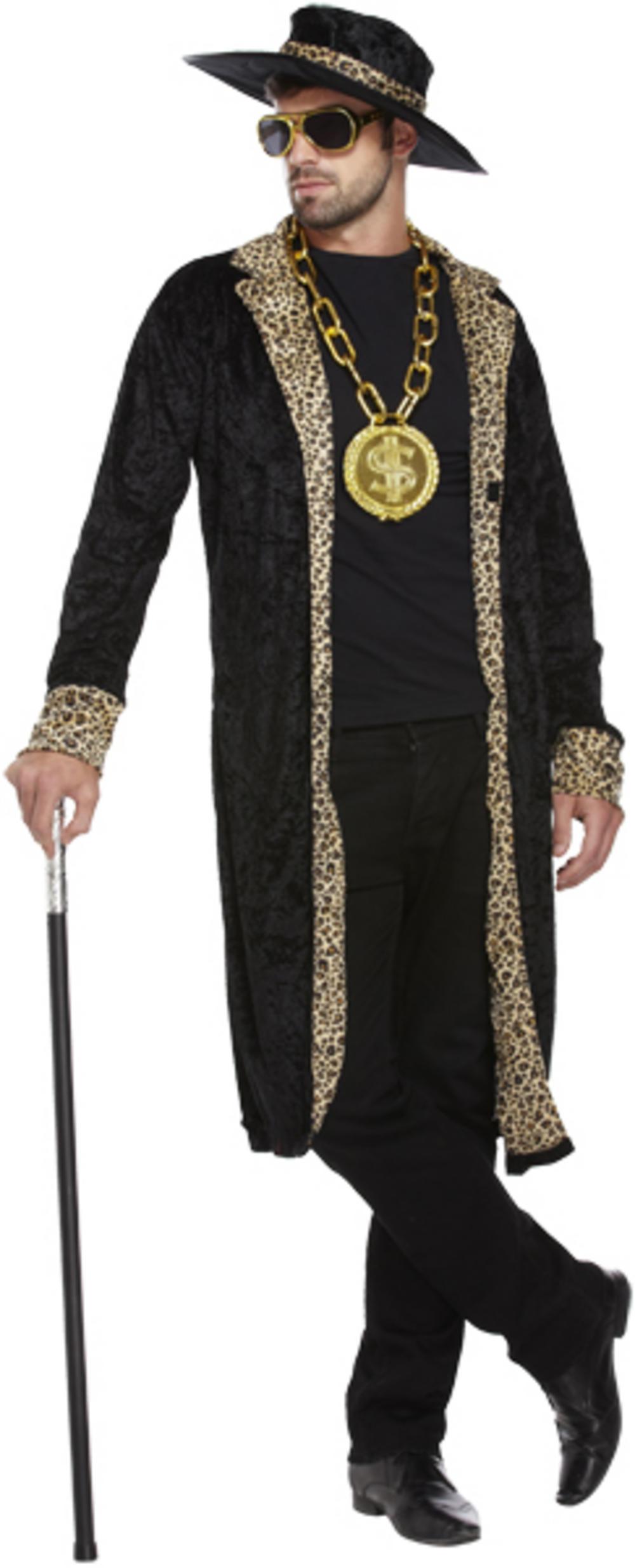 70s Pimp Black Costume