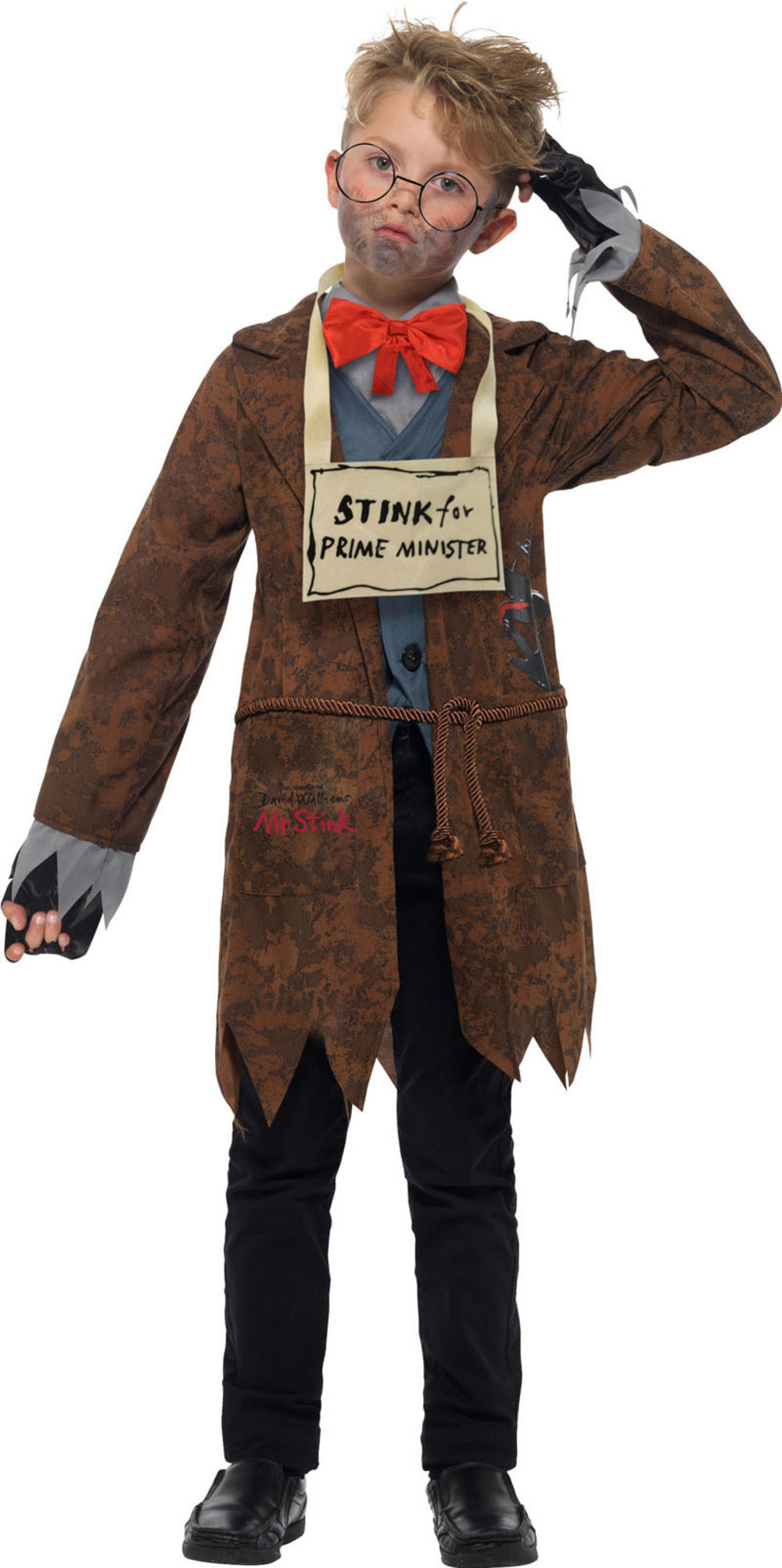 David Walliams Deluxe Mr Stink Boys Costume