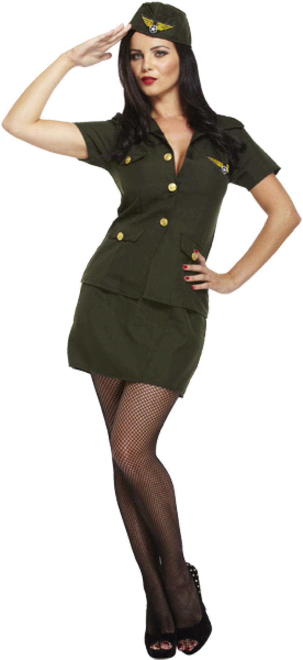Army Lady Costume