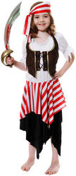 Girls Buccaneer Pirate Costume