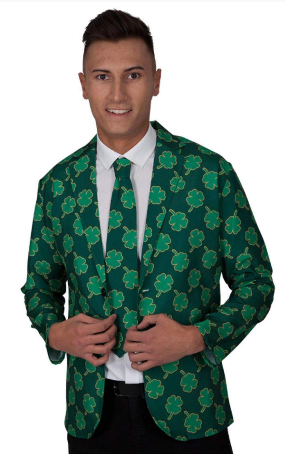 St Patricks Jacket & Tie