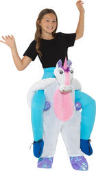 Piggyback Unicorn Kid's Costume